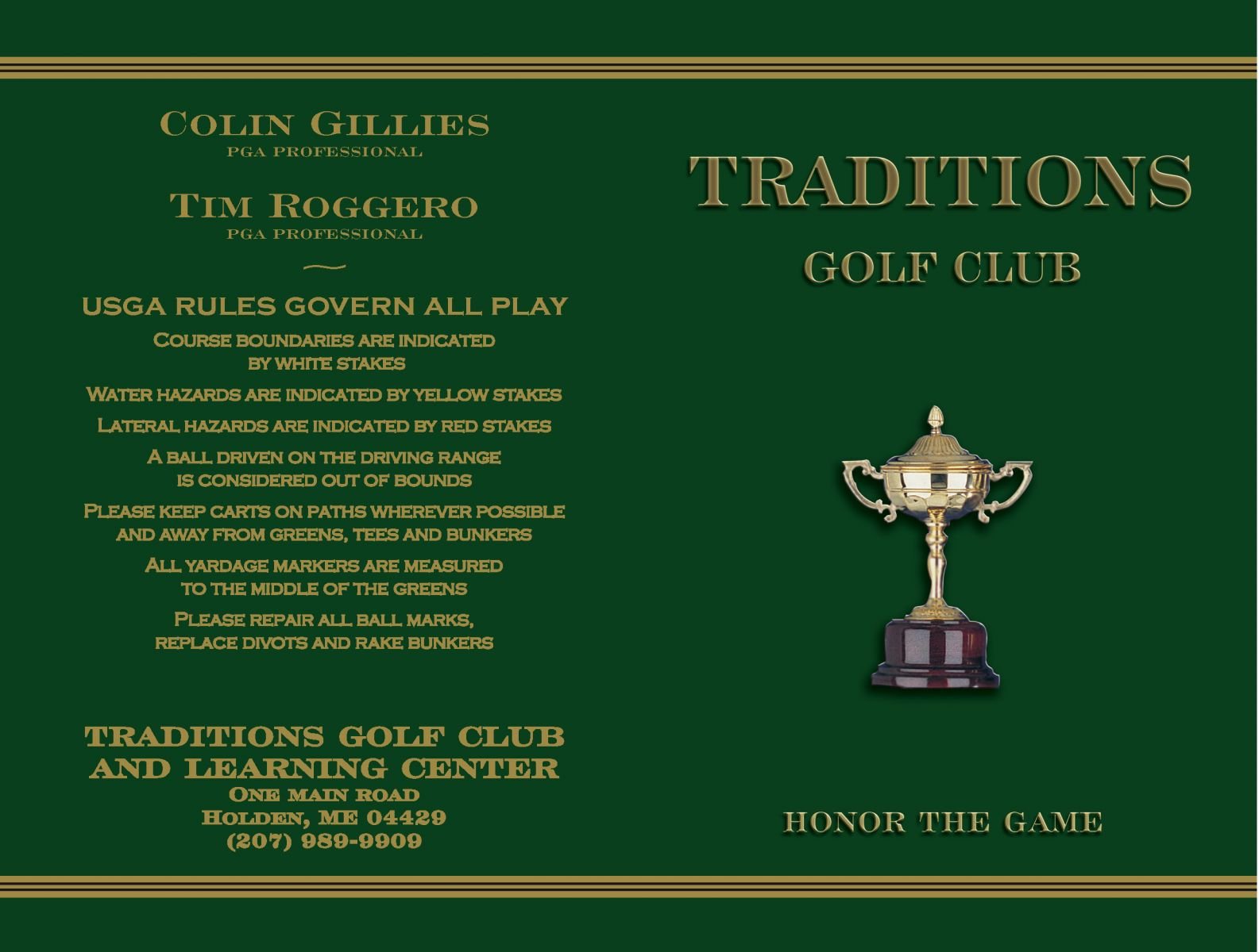 Holden Golf - Traditions Golf and Learning Center
